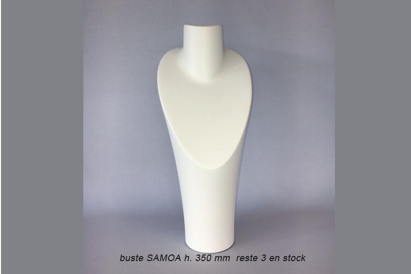 Bustes samoa pour les colliers et chaînes pendentifs.