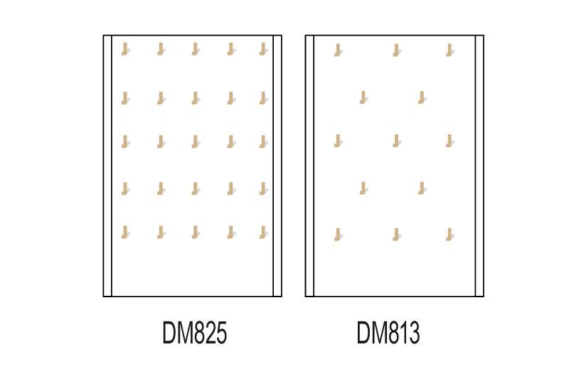 Les plateaux magnétiques pour les fonds de vitrines pour pendentifs