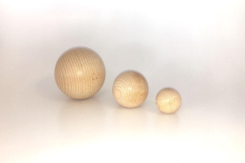 Les sphères.